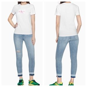 NEW Calvin Klein Mid Rise Skinny Jeans
